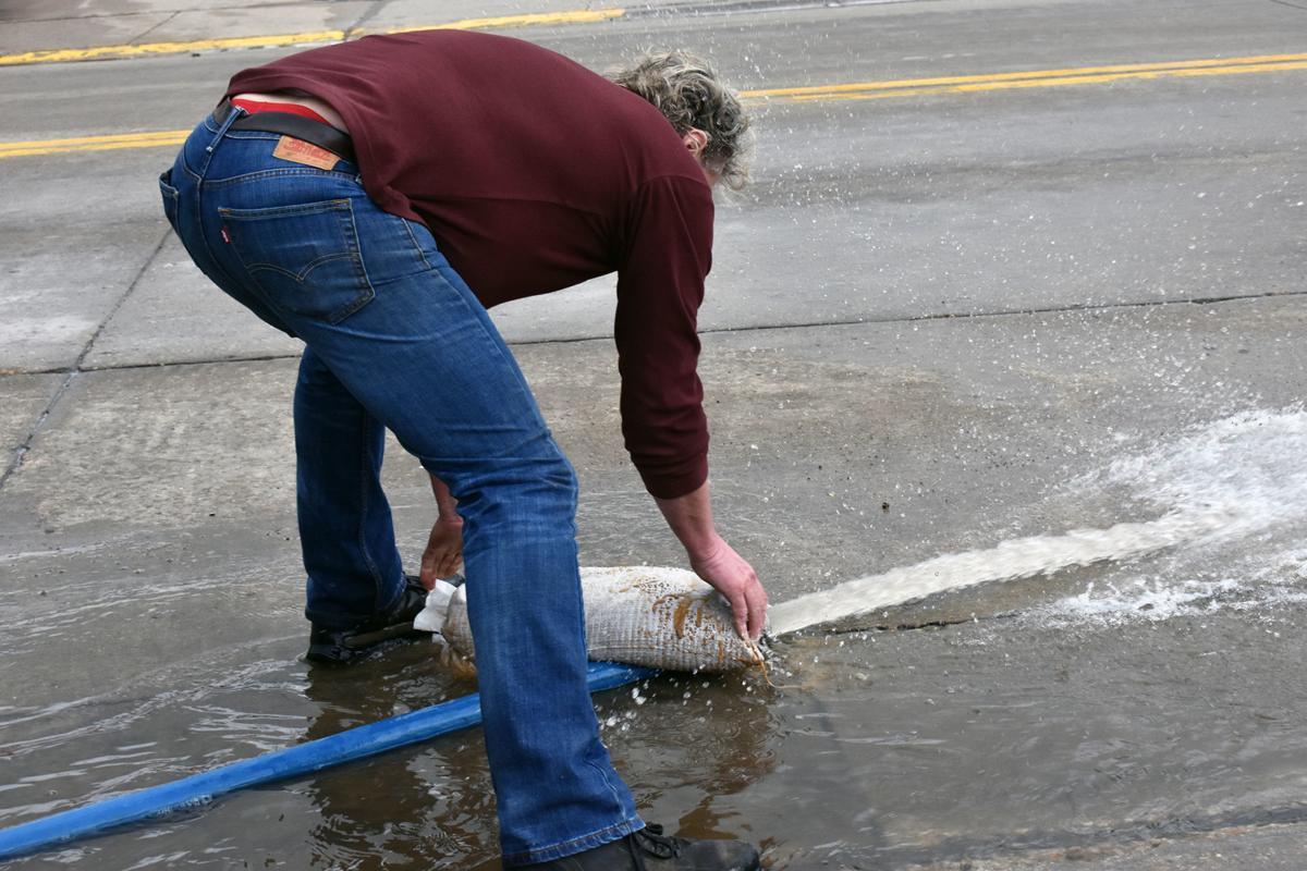 Lodi flooding Wayne Meudt