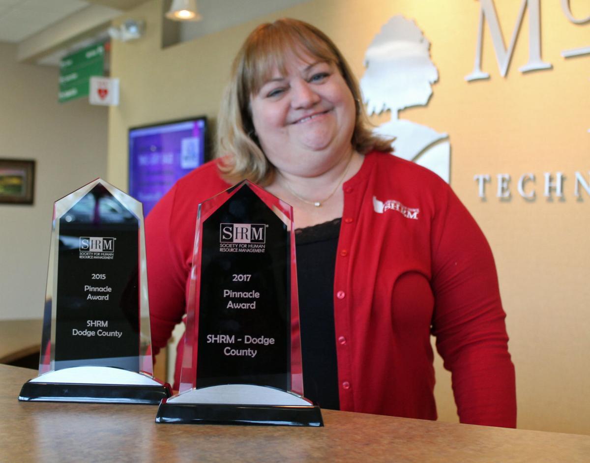 Dodge County SHRM wins Pinnacle Award