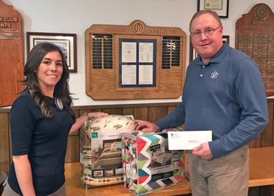 $1,000 donated for kids' beds