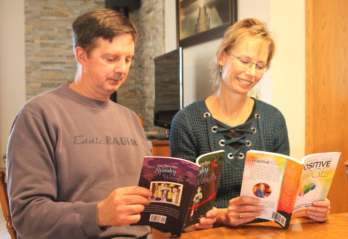John and Tina reading books 5