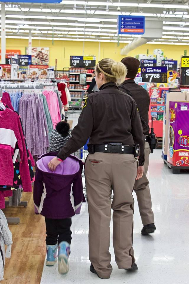 Kops for Kids event gives children a special holiday