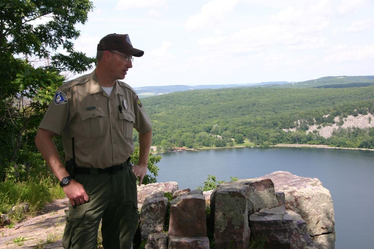 Devil's Lake State Park Superintendent Steve Schmelzer (copy)