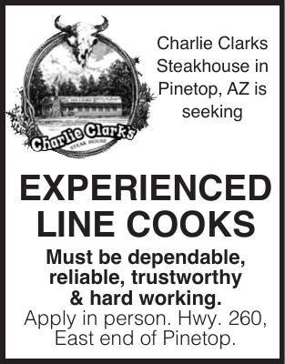 Charlie Clark Line Cooks