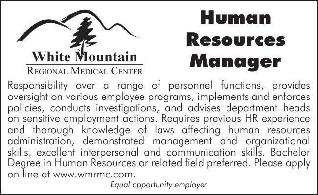 WMRMC HR Manager