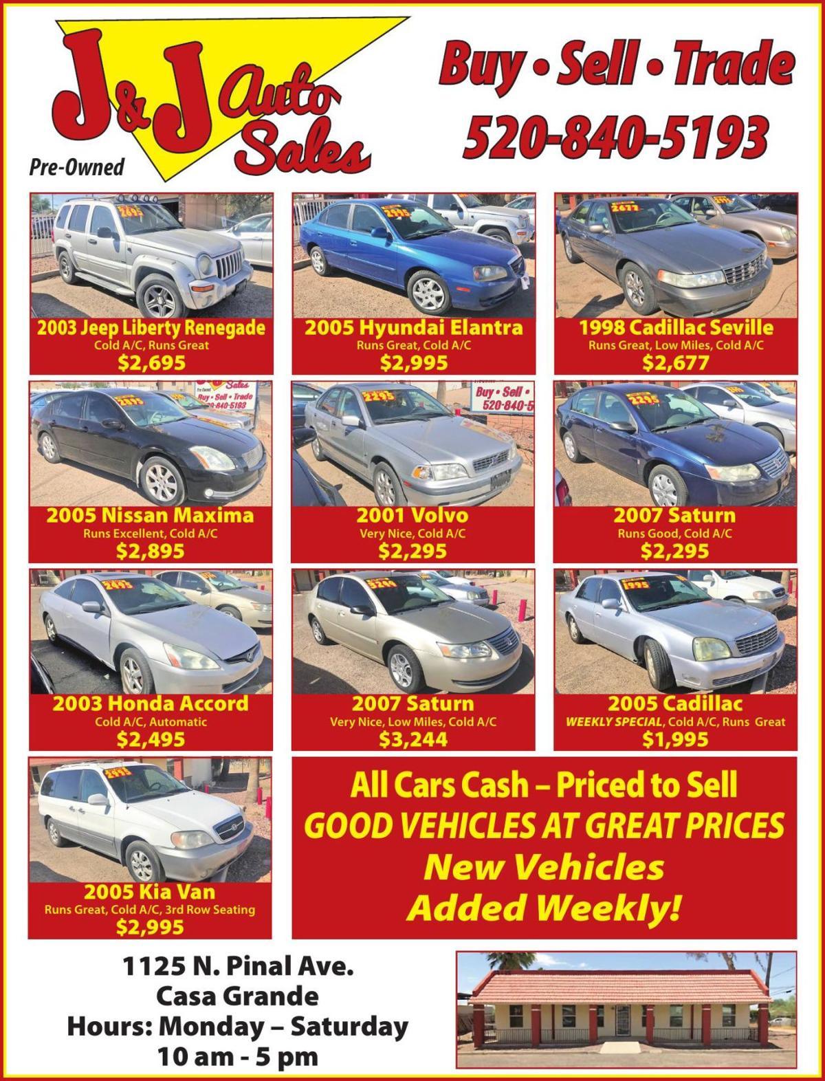 J & J Auto Sales