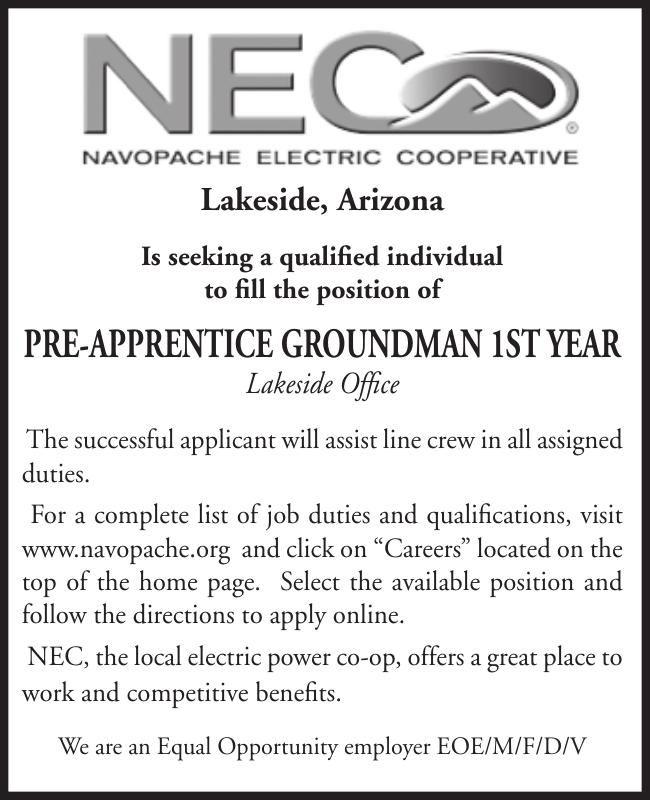 NEC Pre-Apprentice Groundman