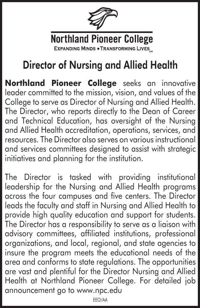 NPC Director of Nursing and Allied Health