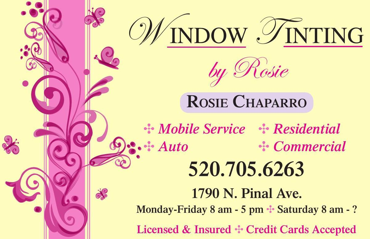 Window Tinting by Rosie