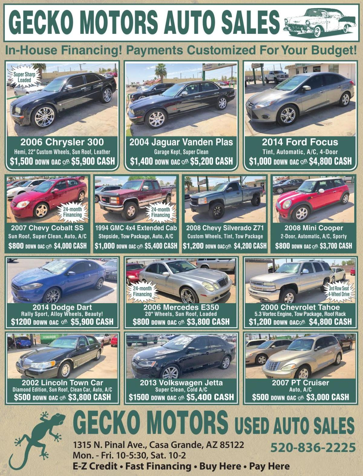 GECKO MOTORS AUTO SALES