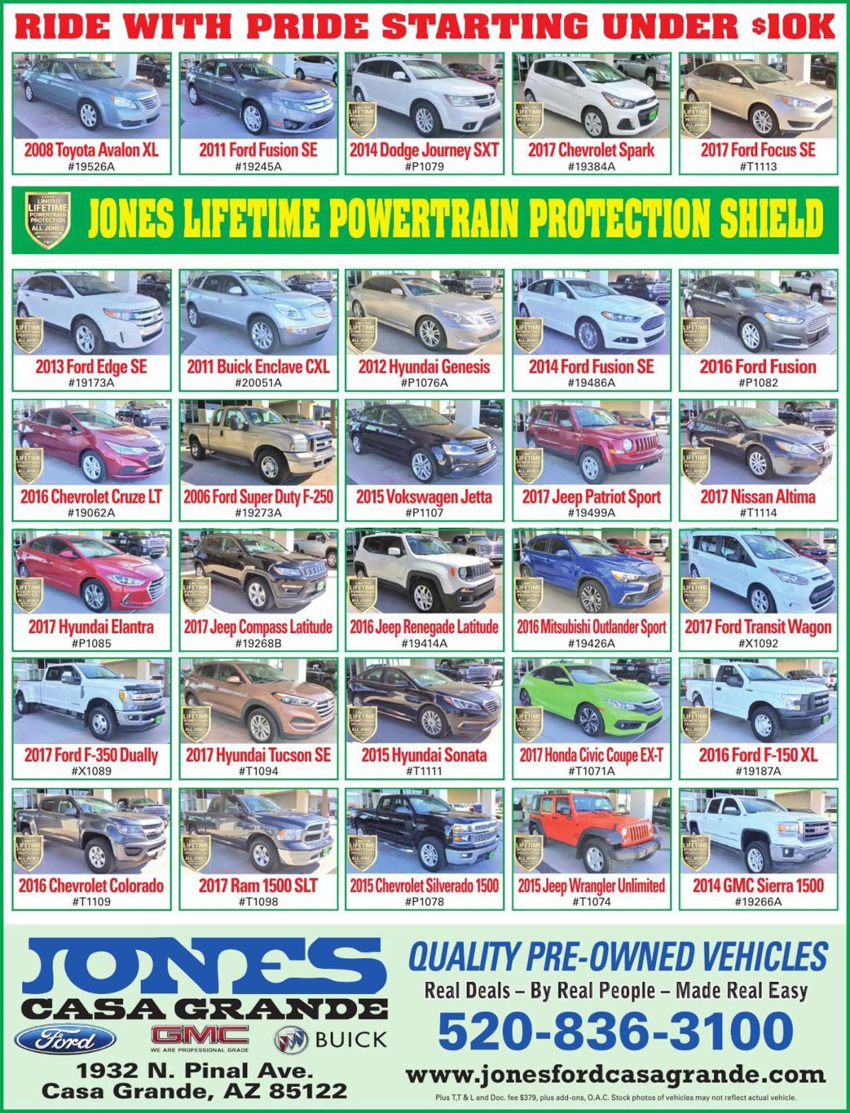 Jones Ford Buick GMC