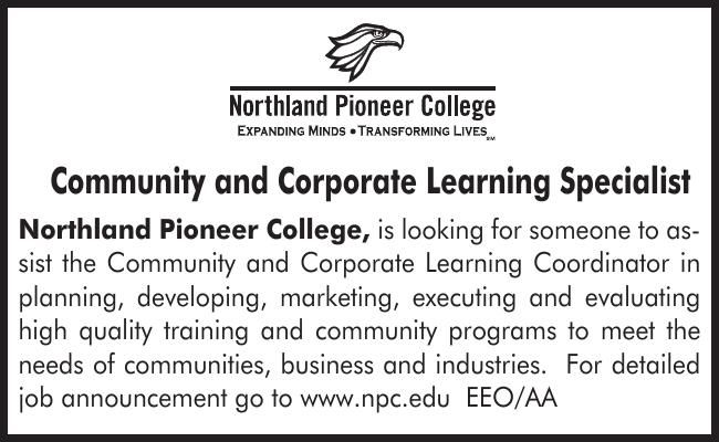 NPC Community and Corporate Learning Specialist