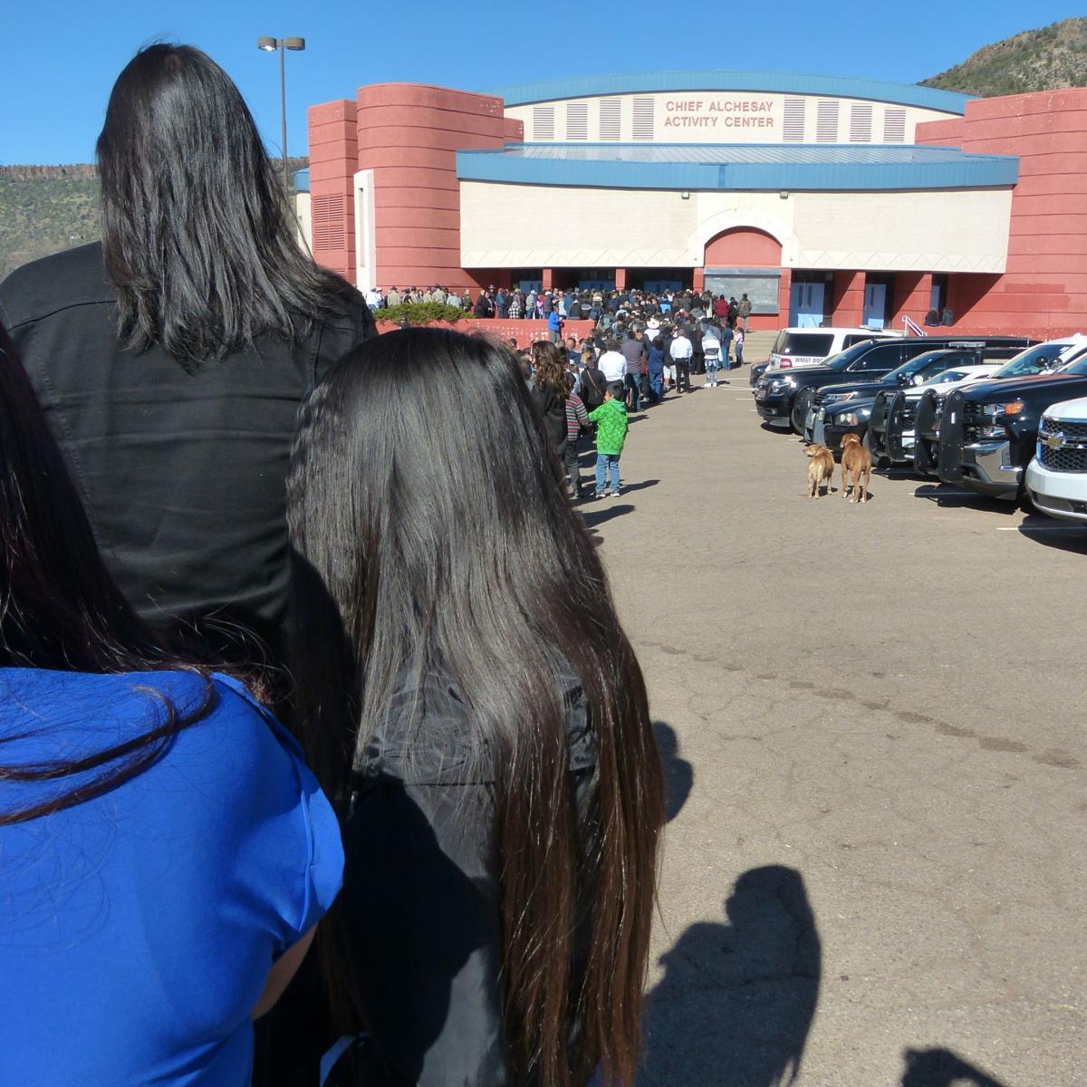 Kellywood funeral long line