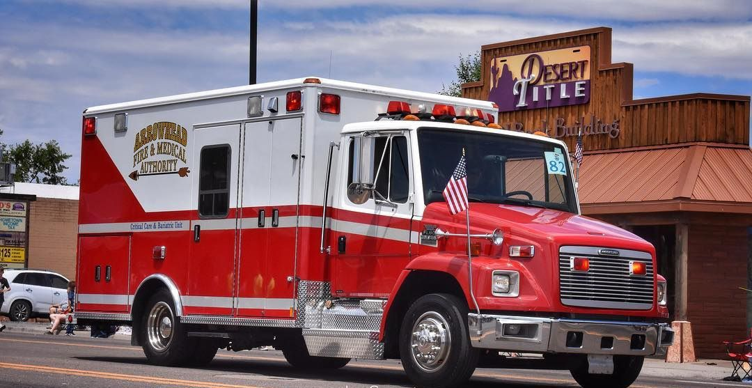 Show Low EMS is now Arrowhead - ambulance picture