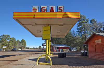 Bell gas station