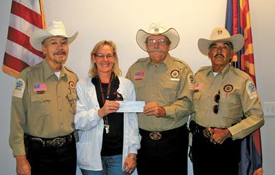Sheriff's volunteers giving back