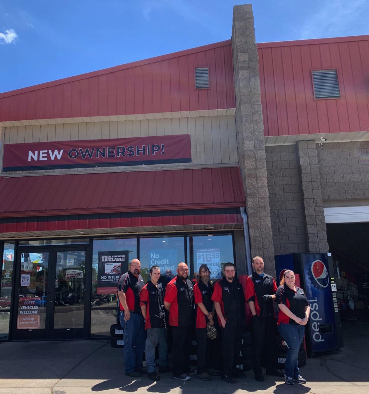 Big O Tires Show Low store team