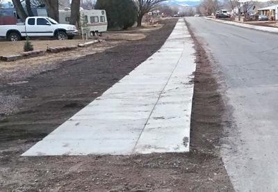 Eagar sidewalk