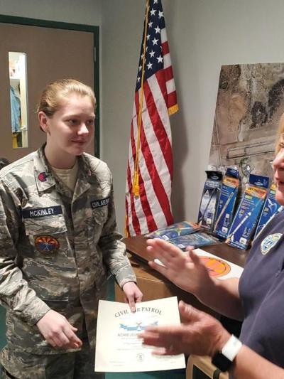 CAP Cadet receives memorial award