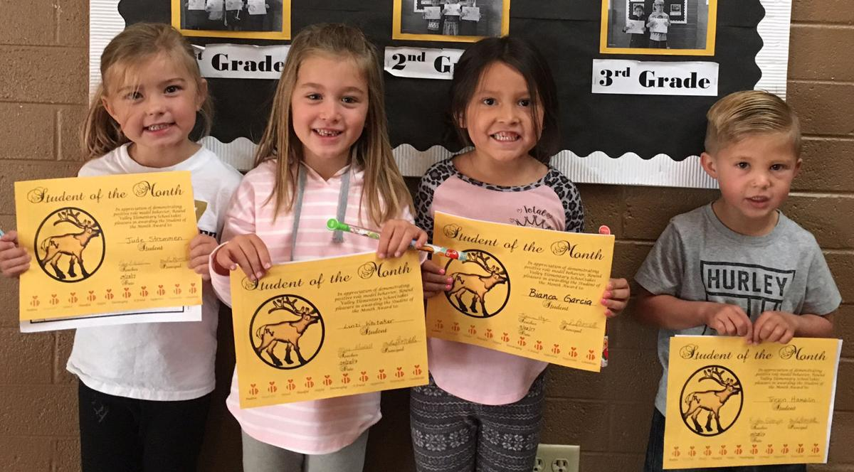 RVES honors September students of the month