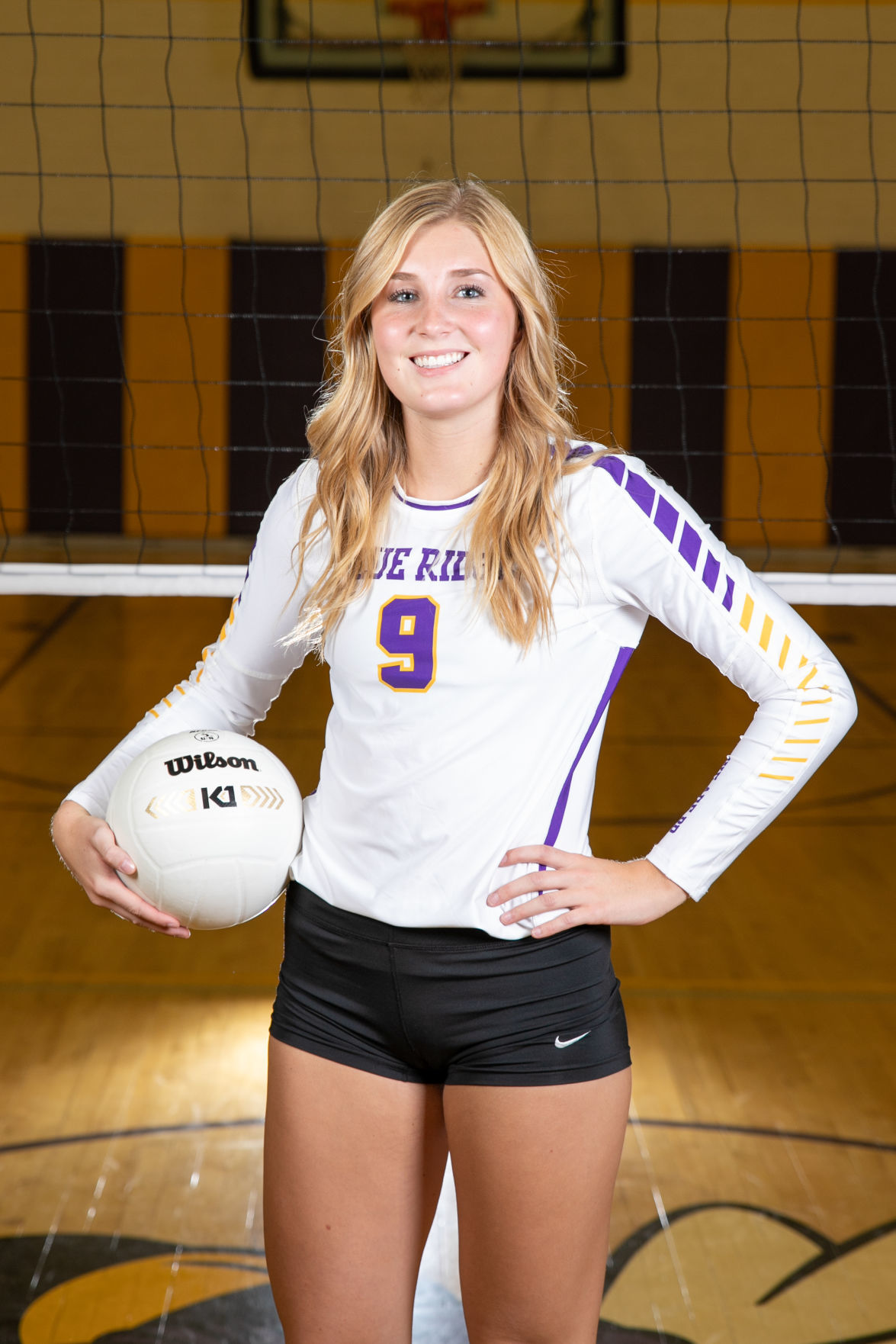 BR varsity volleyball - Ellie Berges