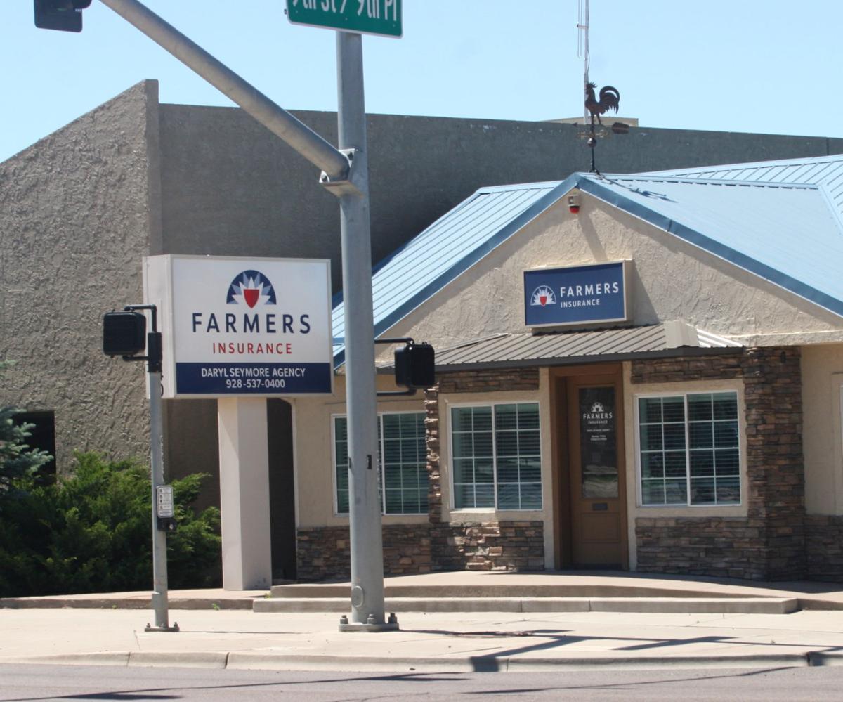 Farmer's Insurance office on 9th St./Deuce of Clubs