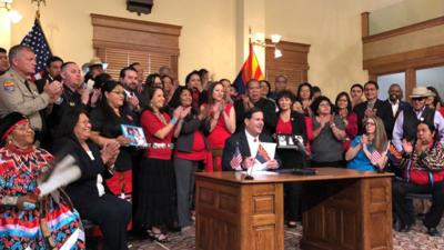 Govenor Ducey signs HB2570