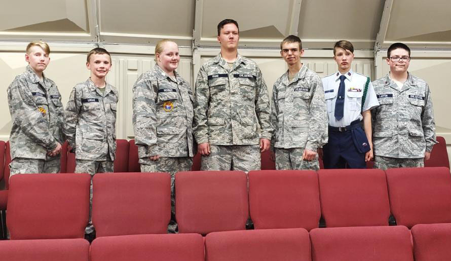 Show Low Squadron cadets provide support