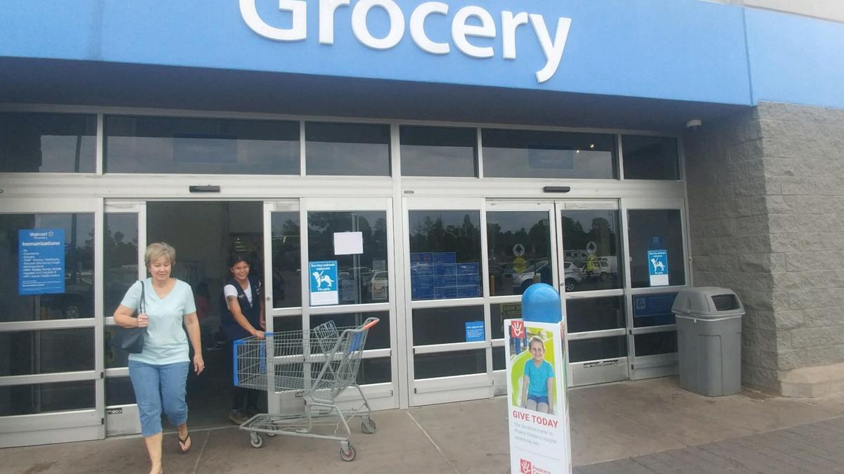 Weekend gas leak, power outage shuts down Walmart