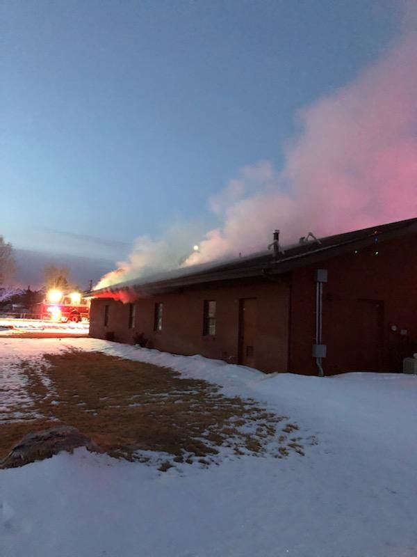 District office fire