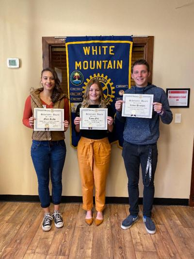 Rotary Club names three BRHS students of the month
