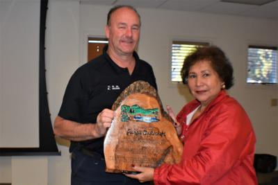PLHS recognizes Museum Director Georgia Dysterheft