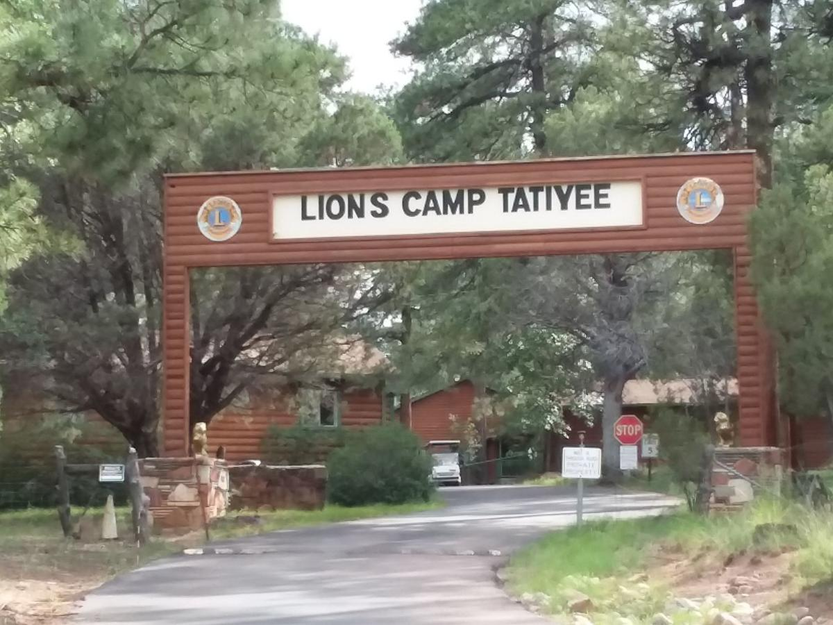 Camp Tatiyee sign