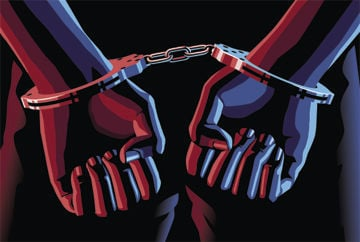 Handcuff graphic