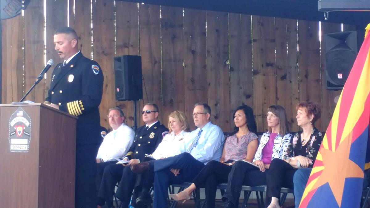 Timber Mesa Fire and Medical District anniversary