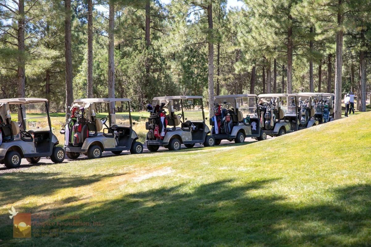 Hospice Foundation golf tournament is a means to an end