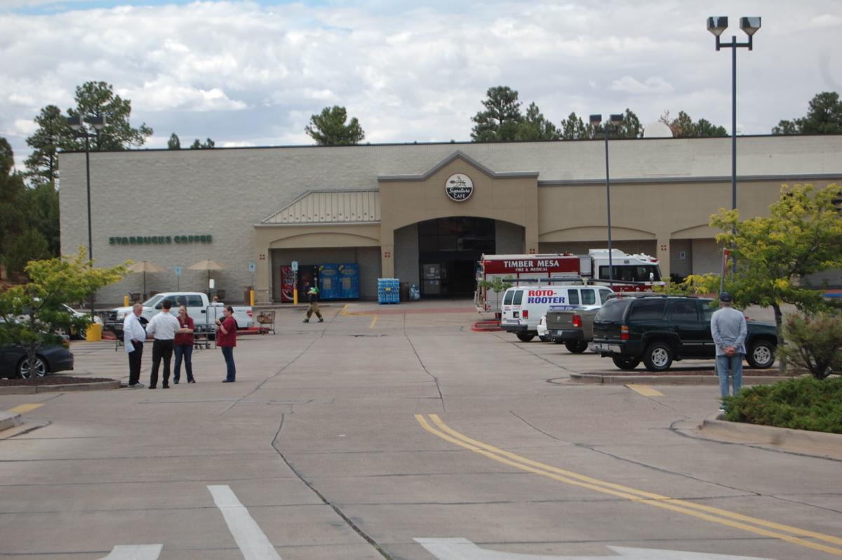 No gas leak at Safeway