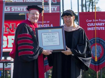 Snowflake alum, now CEO receives honorary doctorate