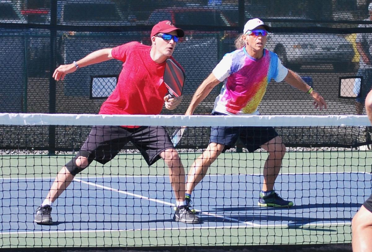 Pickleball players support local fundraiser