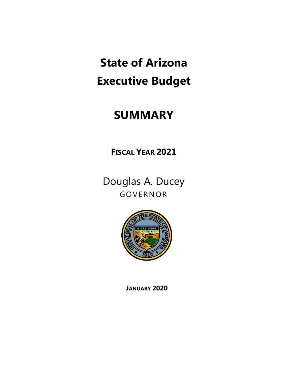 Gov. Ducey's 2021 budget proposal