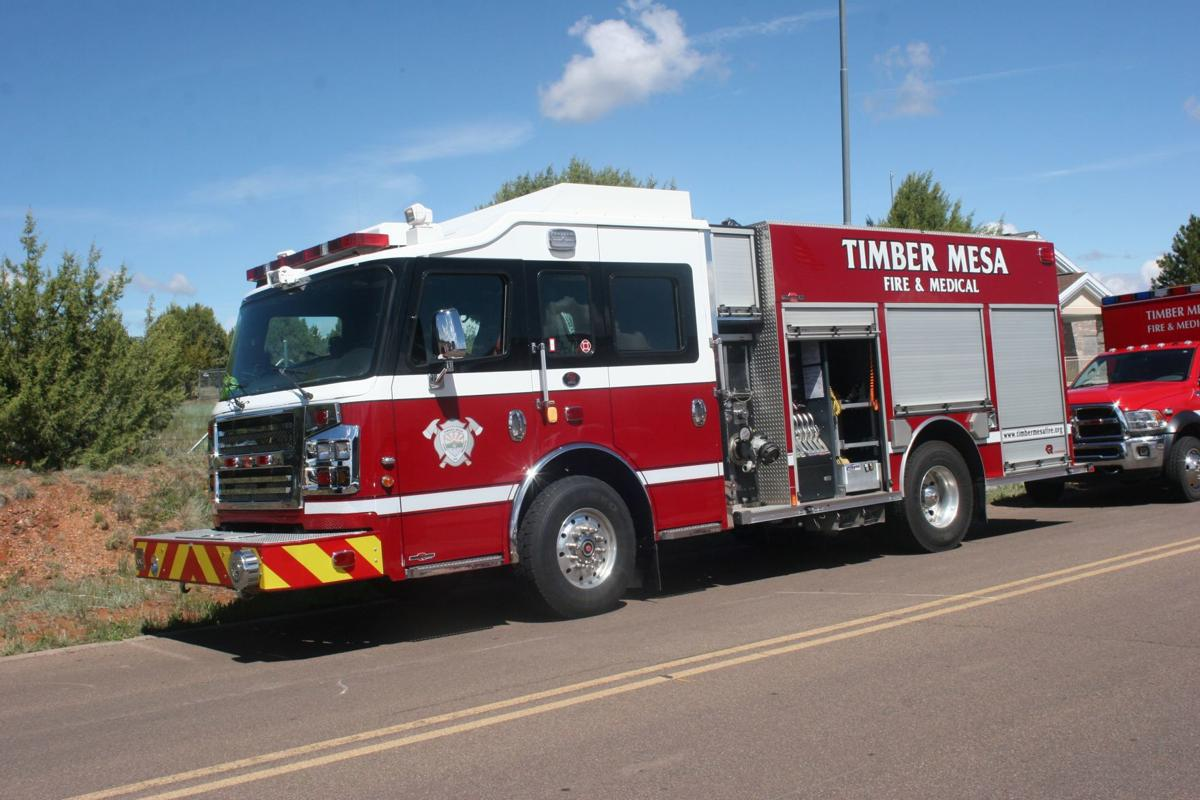 Timber Mesa fire apparatus
