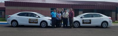 new cars for driver's ed program