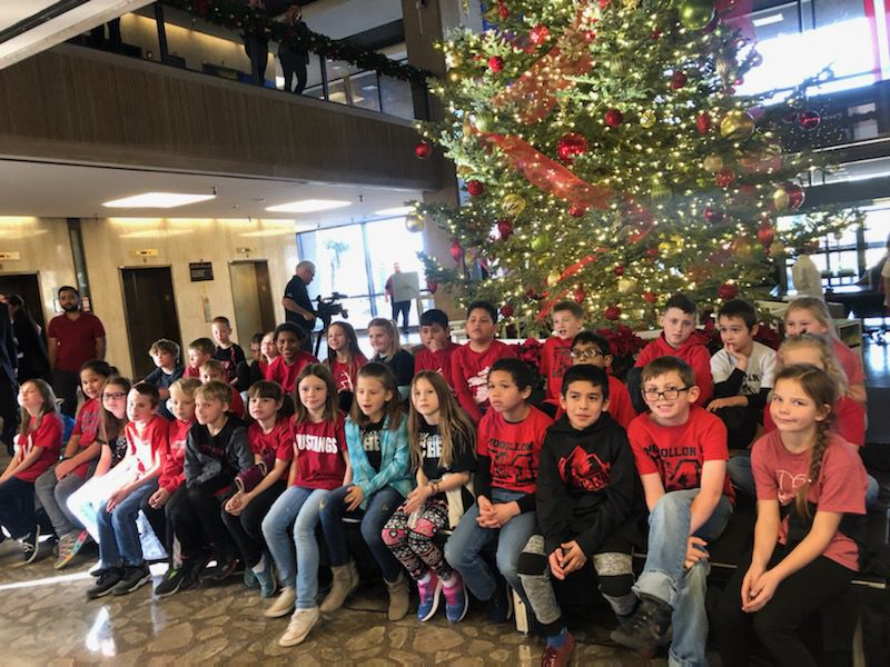 Arizona Capitol Christmas tree comes from Heber-Overgaard - the kids