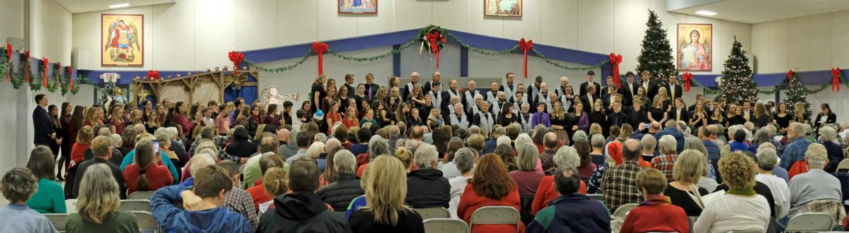 HCBC Christmas in the Pines concert packs the church