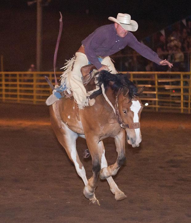 Rodeos Rock The Fourth White Mountain Independent