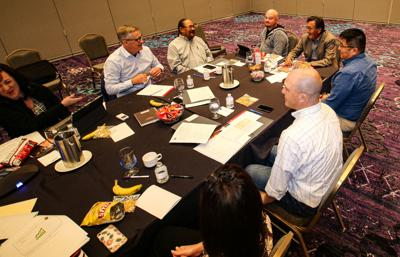 Navajo County staff and elected offials study session at Ak-Chin Resort