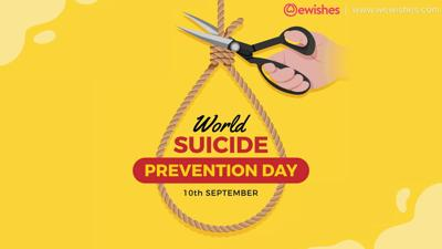 Sept. 10 is World Suicide Prevention Day