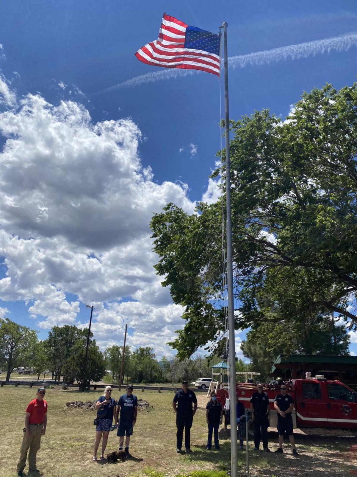 Vernon community celebrates Flag Day