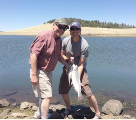 White mountain fishing report go fishin 39 for Camping and fishing in arizona