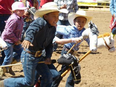 2019 Lil Deuces Rodeo - stick horse race