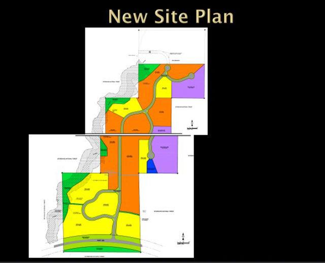 Aripine subdivision site plan